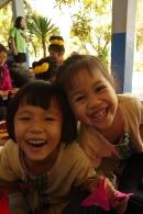 幼稚園児から小学生までが一緒の校舎で学びます。