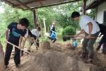 堆肥も自分たちで作ります!